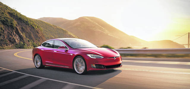 The Tesla Model S is an example of an all-electric car.