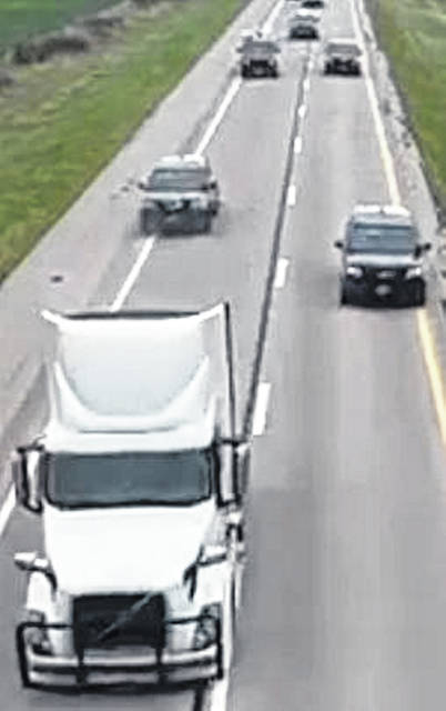 Authorities identified Terry Pierce Jr., of Spencerville, as the man who led law enforcement officials on a nearly two-hour chase in a stolen semi truck Tuesday morning.
