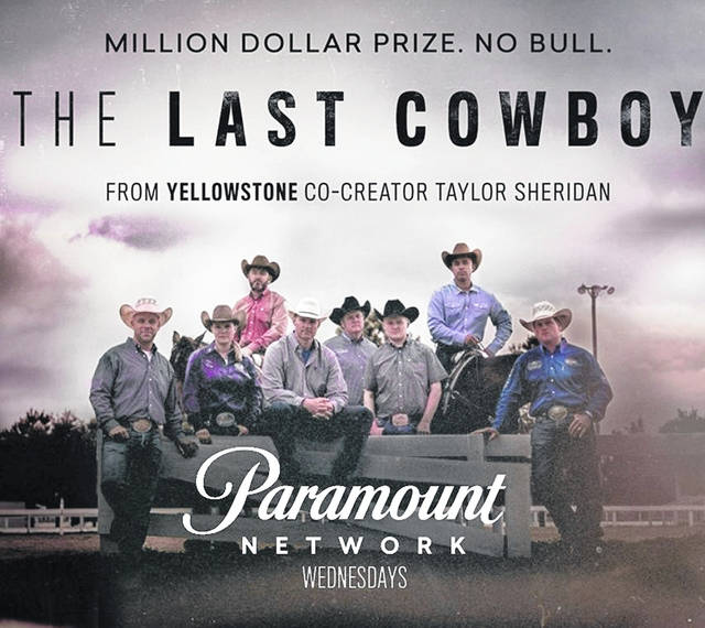 "A television photo cover for ""The Last Cowboy"" shows former Columbus Grove resident Craig Schmersal to the far left of the picture."