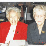 100th birthday: Evelyn Sarber and Hazel Dunn