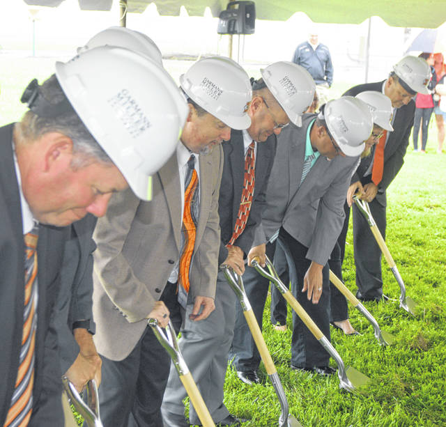Ground was broken Sunday for a new Elida Elementary school.