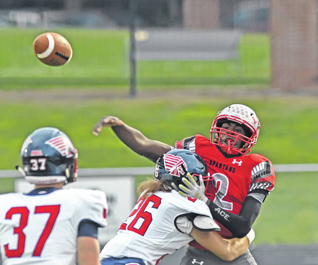 Lima Senior quarterback E.J. Cameron has shown improvement in his first two games of the season.