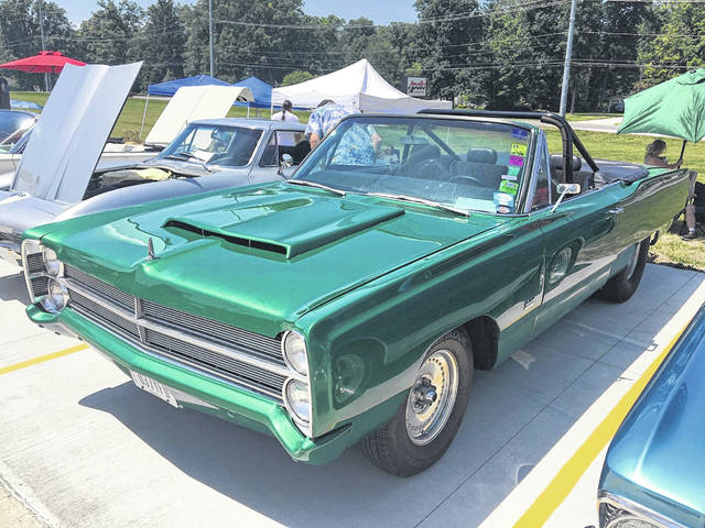 Rob Zizelman, of Celina, owns this 1967 Plymouth Sport Fury. It's a combination of parts from multiple cars.