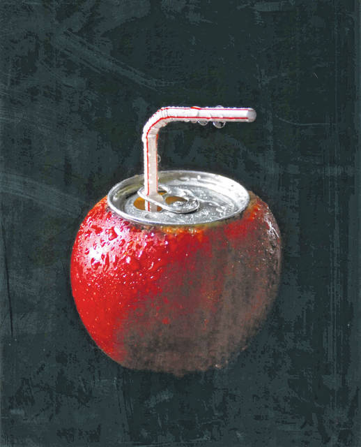 """Second place Still Life By Jodi Anderson, New Bremen, """"Thirsty!"""""""
