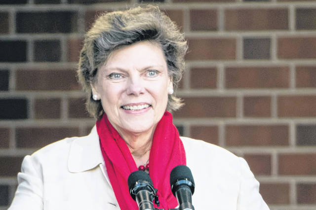 Cokie Roberts speaks during the opening ceremony for Museum of the American Revolution in Philadelphia on April 19, 2017. Roberts, a longtime political reporter and analyst at ABC News and NPR, has died, ABC announced Tuesday. She was 75.