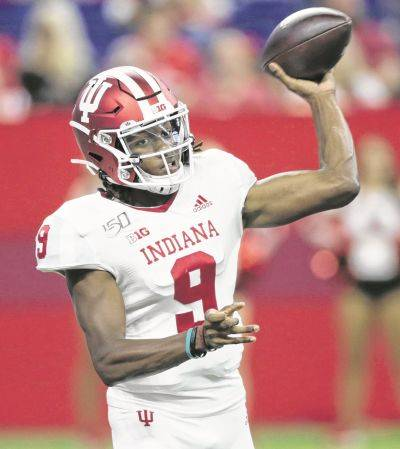 Indiana's Michael Penix Jr. will be a game-time decision for Saturday's game against Ohio State.