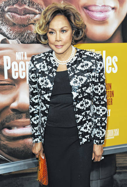 """This May 8, 2013 file photo shows Diahann Carroll at the world premiere of """"Peeples"""" in Los Angeles. Carroll passed away Friday at her home in Los Angeles after a long bout with cancer. She was 84."""