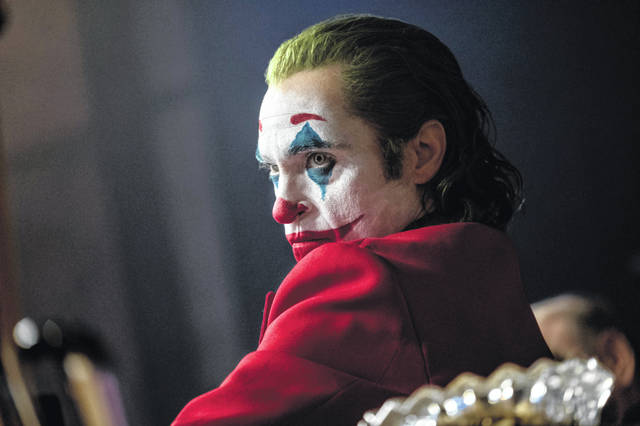 "Joaquin Phoenix appears in a scene from the film ""Joker."""