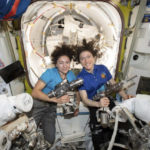 First all-female spacewalking team makes history