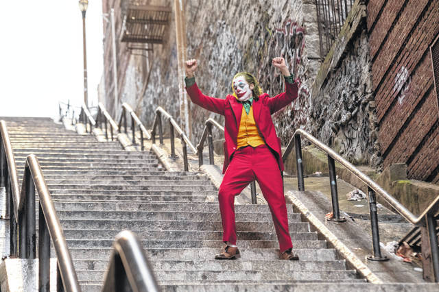 "Joaquin Phoenix appears in a scene from ""Joker."" A set of outdoor steps in the Bronx has become a tourist attraction in recent weeks since the release of the movie. The stairs are between two buildings on Shakespeare Avenue, about a half-mile from Yankee Stadium."