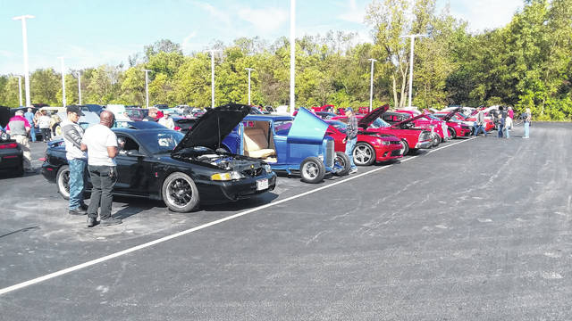 A wide variety of vehicles were on display at the Veterans Car Show at Reineke Ford Lincoln in Lima on Saturday.