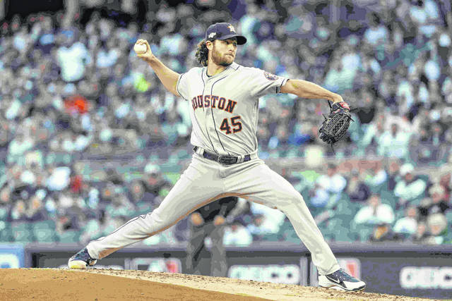 Cole pitches Astros past Yankees