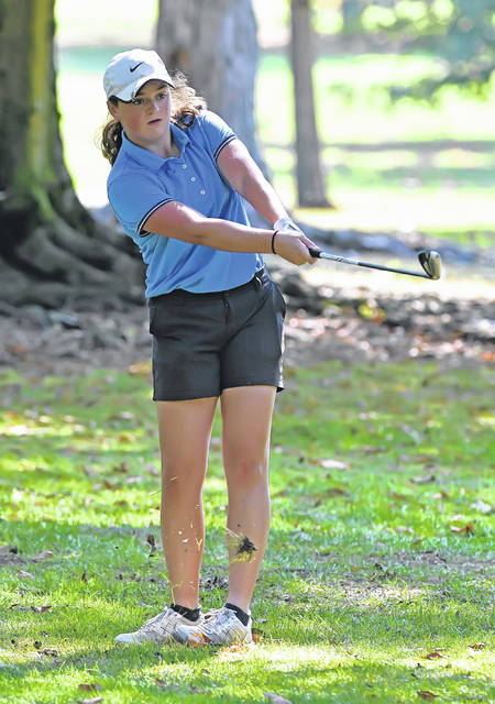 Lima Central Catholic's Bridget Mulcahy, the No. 4 golfer, is one of two girls who will be making her first trip to state.