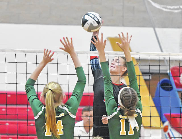 LCC defeats Ottoville in three sets