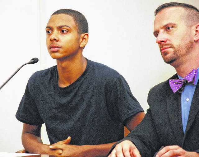 Duran Tyson Jr., 17, of Lima, pleaded guilty to attempted murder on Tuesday in Allen County Common Pleas Court, admitting that he fired his gun at an Allen County sheriff's deputy earlier this year following an armed robbery at a Bluelick Road gas station. Tyson faces the possibility of decades behind bars when he is sentenced Nov. 4.
