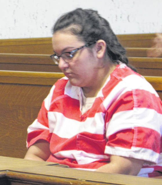 Breanna Zavala, who has been charged with child endangering and felonious assault appeared in court but not on record Thursday.