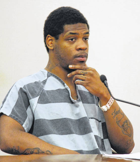 Eric Wilson Jr., 25, of Lima, appeared in Allen County Common Pleas Court on Thursday and announced he plans to represent himself at trial on charges of engaging in gang-related activities, felonious assault and other weapons-related counts.