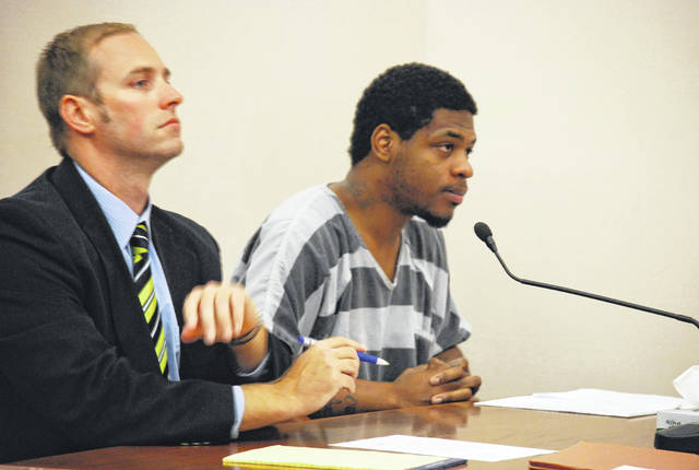 Less than a week after telling a judge that he intended to represent himself against a host of felony charges, Eric Wilson, 25, of Lima, was back in court on Tuesday to say he now intends to have a lawyer defend him.