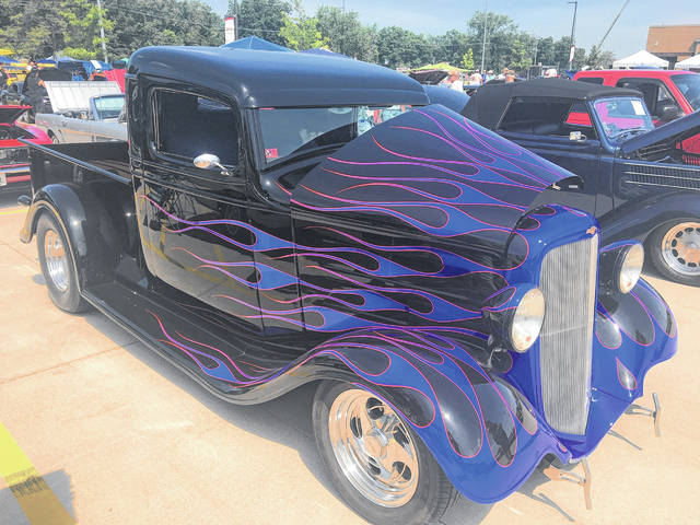 Ron Wheeler, of Defiance, owns this modified 1934 Chevy Pickup.