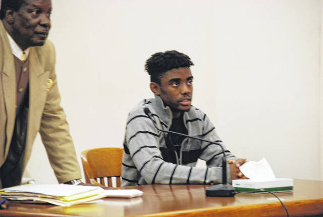 Javaughn Kelly Jr., 19, of Cleveland, was sentenced in Allen County Common Pleas Court Wednesday to two years on probation and 60 hours of community service for stealing an Xbox gaming system on a dare.
