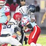High school football: LCC rolls to sixth victory of season