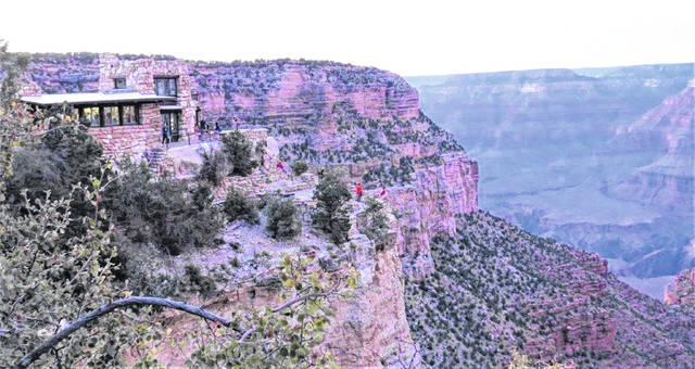 Lookout Studio on the South Rim affords amazing views.