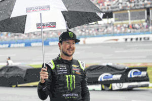 Rain gives team an additional day to strategize at Talladega