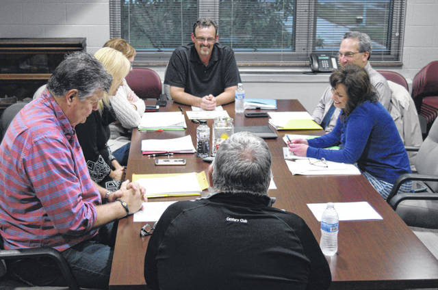 Members of the Spencerville school board met in executive session Wedenesday night to consider applicants for the superintendent's position, which is being vacated by Dennis Fuge, who is retiring at the end of February.