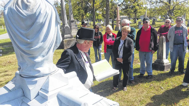 George MacDonell discusses some of the notable and notorious people buried in Lima's Woodlawn Cemetery.
