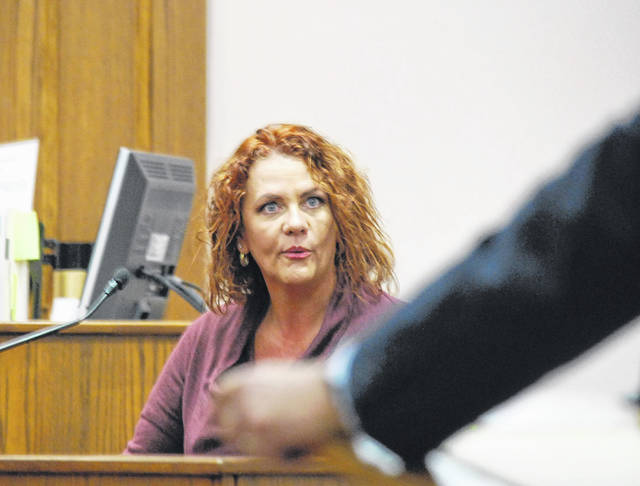 Nichole Mikesell, an investigator for the Allen County Children Services board, was among the witnesses Tuesday in the trial of Anthony Davenport.