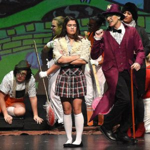 Photos; Willy Wonka production at Lima schools