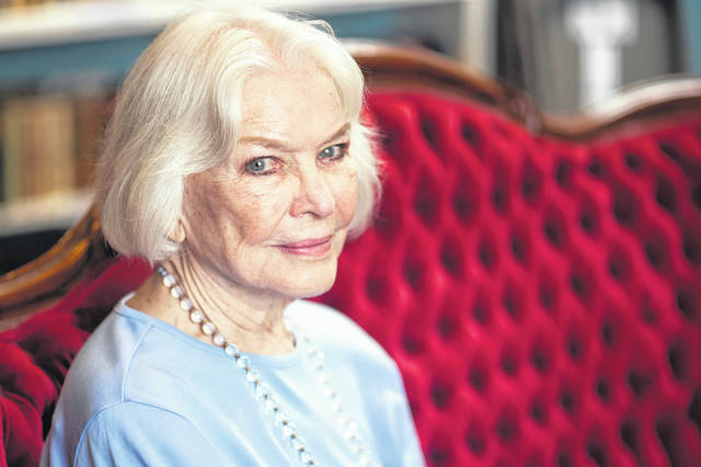 Actress Ellen Burstyn poses for a portrait in September in the Paul Newman Library of the Actors Studio in New York, where she serves as a co-president of the Actor's Studio with fellow actors Al Pacino and Alec Baldwin.