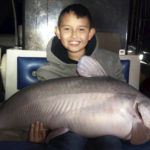 Get This: 9-year-old boy catches massive blue catfish in New Mexico