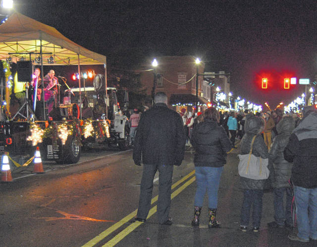 Downtown Bluffton was full of activity Saturday for the annual Blaze of Lights.