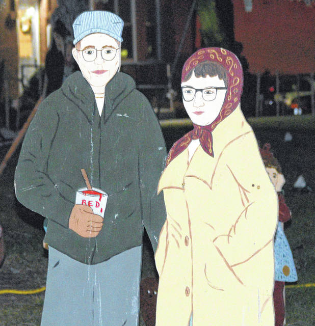 Harry and Dorothy Ream's display of wooden cutouts has been a part of Bluffton for years.