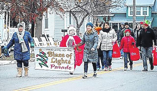 This will be the 33rd year for the Blaze of Lights Festival.