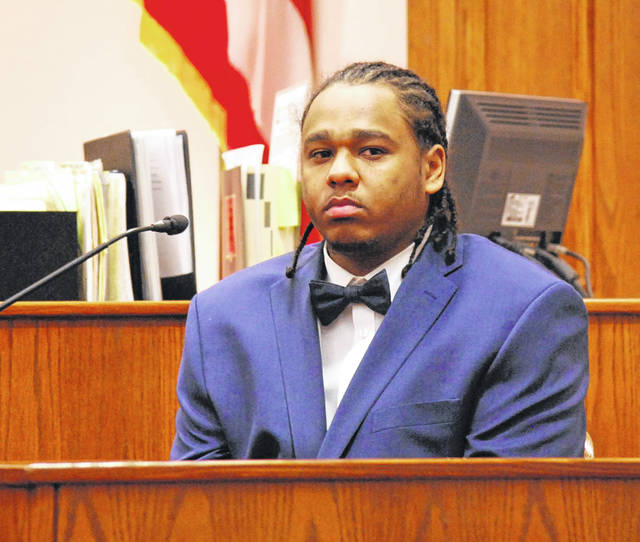 """Chaz """"Chitty"""" Jackson took the witness stand in his own defense during the second day of his murder trial Wednesday in Allen County Common Pleas Court. The jury is expected to begin deliberations on Thursdsay."""