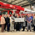 Midwest Electric members donate $14,000