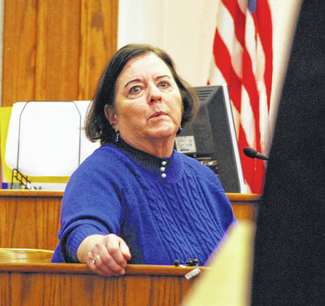 Lucas County Coroner Diane Scala-Barnett testified that 15-year-old Christopher Watson died of numerous blunt force trauma injuries after the vehicle in which he was a passenger was struck head-on by a pickup truck driven by John Robinson.