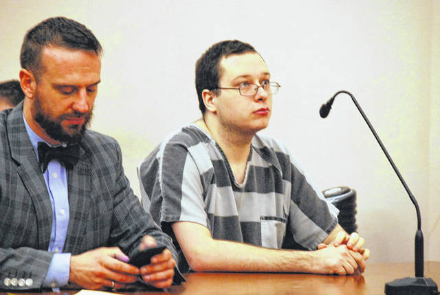Damon Roeder, 27, of Lima, was ordered to undergo an assessment as a candidate for mental health court as part of his sentencing Friday in Allen County Common Pleas Court. Roeder, who injured to police officers at Mercy Health-St. Rita's Medical Center nearly two years ago, was also ordered to undergo anger management counseling and to serve three years on probation.