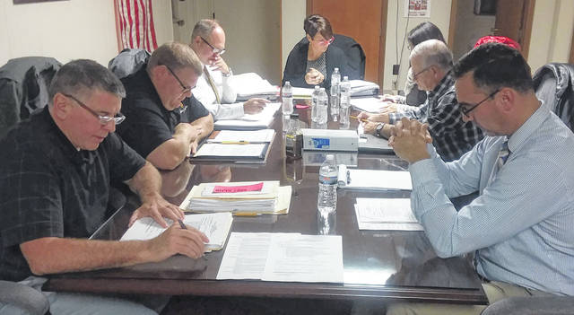 Members of the Delphos school board Monday night made the first step toward getting a 0.5% income tax on the March 2020 ballot.