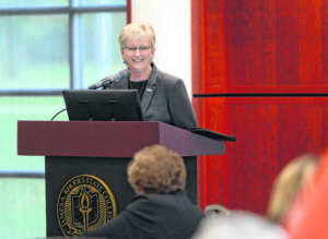 Rhodes State names new president