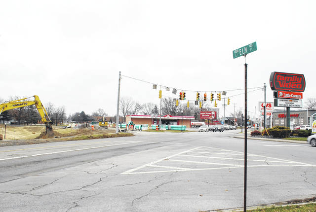 Traffic along Bellfontaine Avenue will be re-routed beginning Monday. Lima's share of the $20 million project was $750,000, used to match federal and state grants.