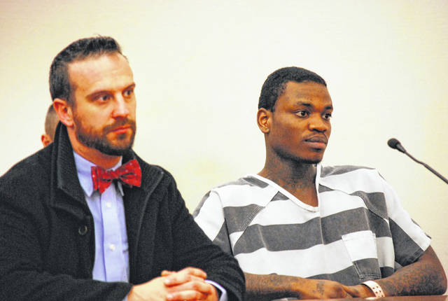 Jamaree Allen appeared in Allen County Common Pleas Court on Friday asking that his court-appointed attorney, Carroll Creighton, be removed from his case. Judge Terri Kohlrieser refused to grant that request.