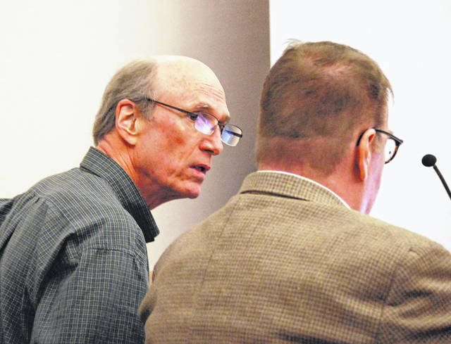 Testimony began Tuesday in Allen County Common Pleas Court in the jury trial of John Robinson, 65,of Phoenix, Arizona. Robinson is charged with aggravated vehicular homicide for causing the death of a 15-year-old Michigan boy in May of 2018 by driving his semi the wrong way on Interstate 75.