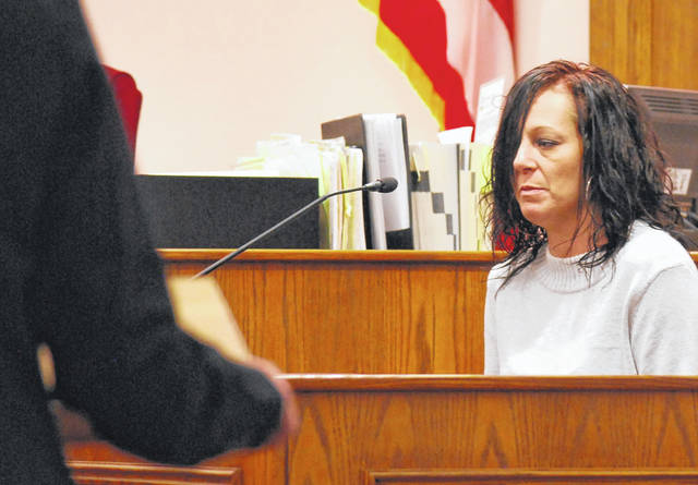 Kaylee Zimmerman testified Tuesday that she contacted Ryan VanBuskirk to purchase painkillers for her and was waiting for him to deliver those pills on the November 2016 evening when he was shot and killed. Her testimony came Tuesday during the trial of Chaz Jackson of Lima, who is charged with murder in VanBuskirk's death.