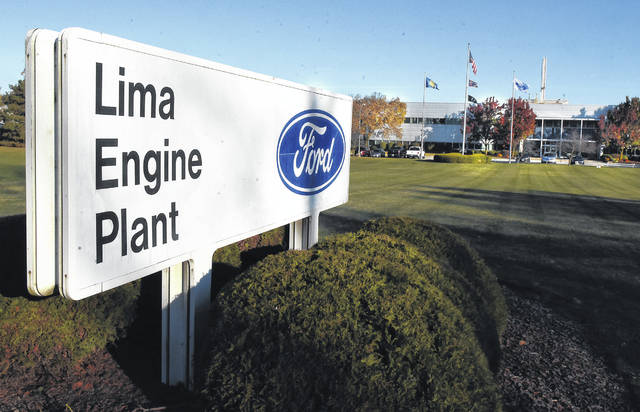 Lima Engine Plant is on Bible Road.