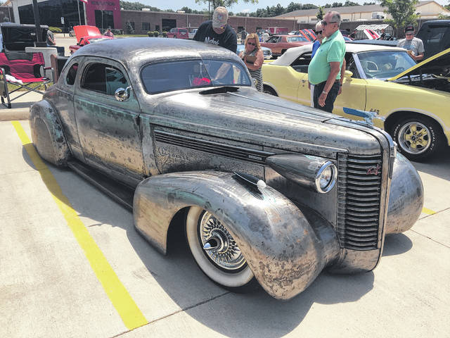 Dick Jenkins, of Elida, hand-built this 1938 Buick Special.