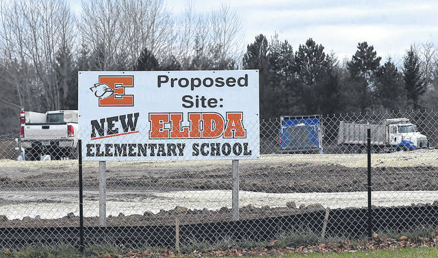 The building of a new Elida Elementary School near Pioneer Road could be held up, as the village and school district argue about whether the site must be annexed into the village.