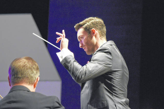 Enrico Lopez-Yañez led the Lima Symphony Orchestra on Saturday as its second guest conductor of the season, as the symphony looks for a new leader.